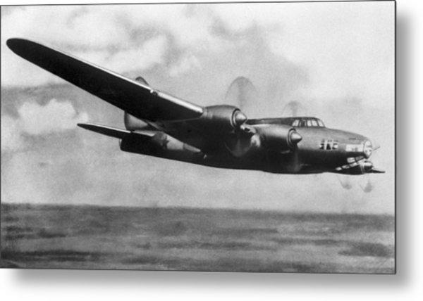 Petlyakov Pe-8, Soviet Ww2 Bomber Metal Print by Ria Novosti