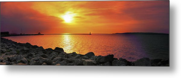 Petoskey Sunset Metal Print