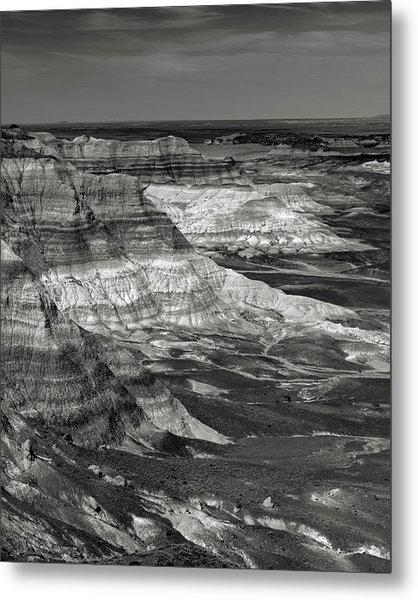 Petrified Forest Mesa Metal Print by Joseph Smith