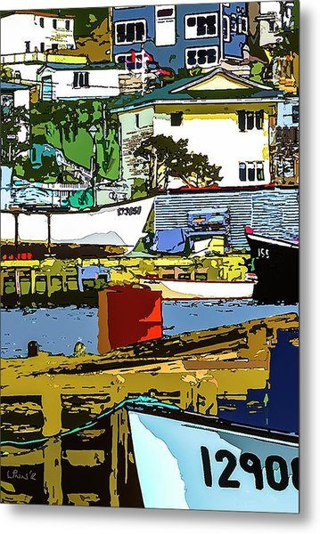 Petty Harbor Metal Print