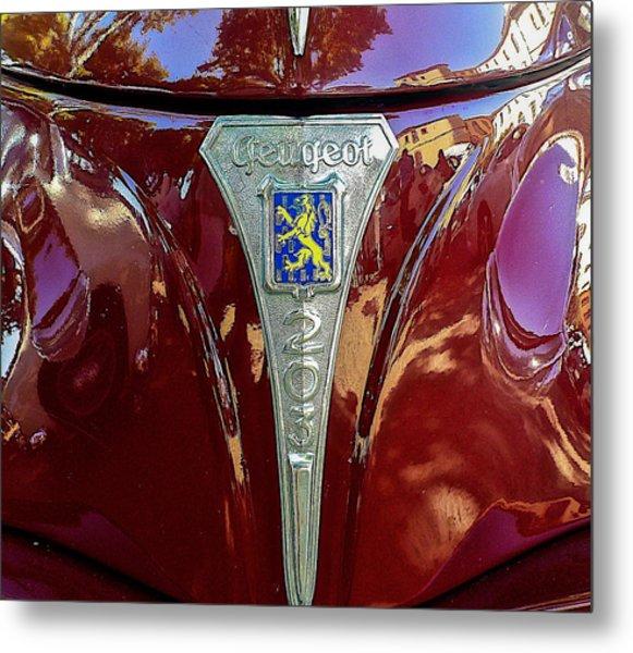 Peugeot 203 Metal Print