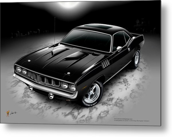 Phantasm 71 Cuda Metal Print
