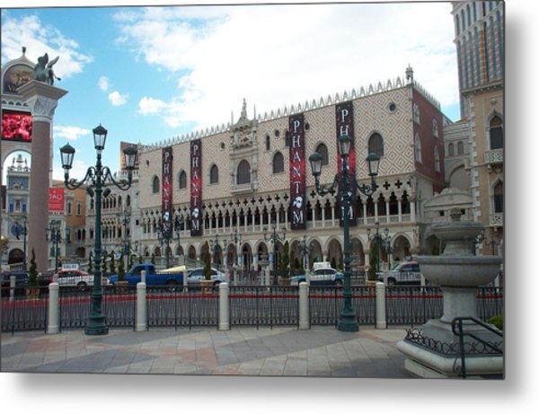 Phantom Building Metal Print by Alan Espasandin
