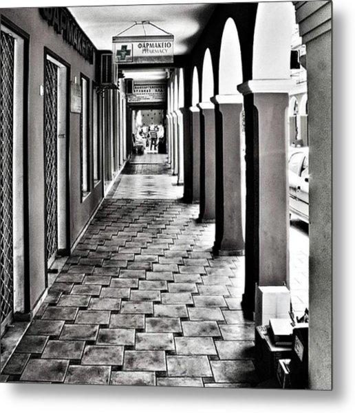 Pharmacy, Zante Town. #zakynthos #zante Metal Print