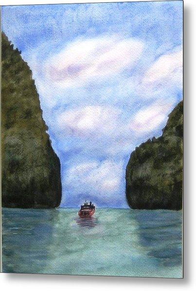 Phi Phi Islands Metal Print by Monika Deo