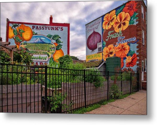 Philadelphia Community Gardens Metal Print