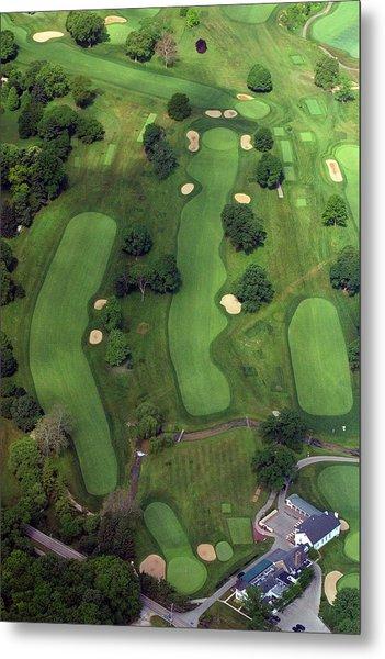 Philadelphia Cricket Club Wissahickon Golf Course 1st Hole Metal Print