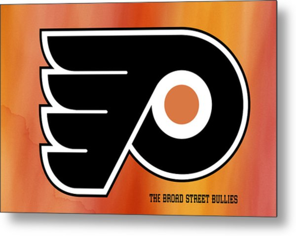 Philadelphia Flyers Hockey Club Metal Print