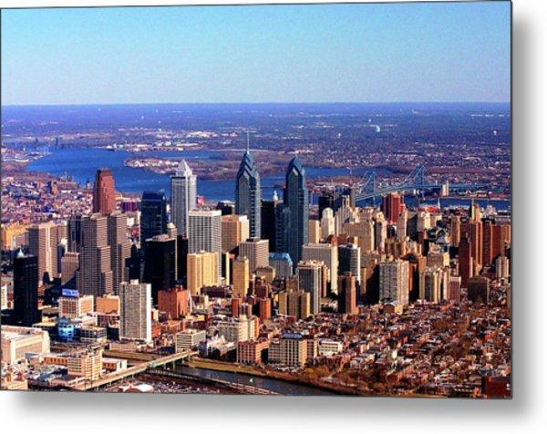 Philadelphia Skyline 2005 Metal Print