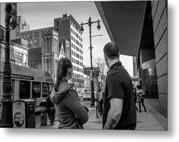 Philadelphia Street Photography - Dsc00248 Metal Print