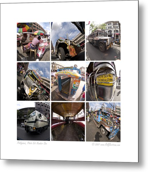 Philippines Photo Set Number One Metal Print by Rolf Bertram