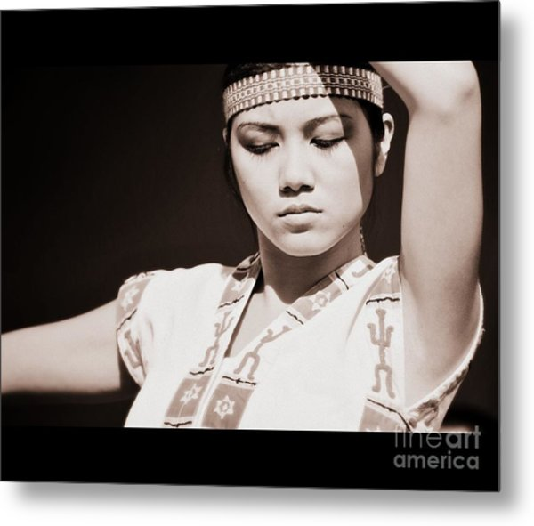 Philippino Dancer Metal Print