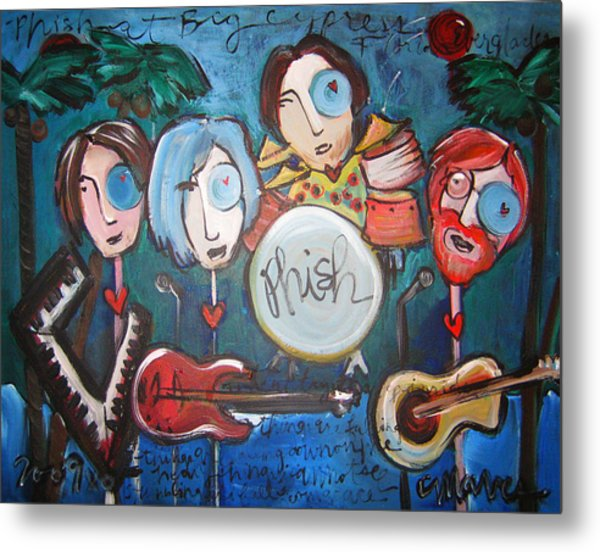 Phish At Big Cypress Metal Print