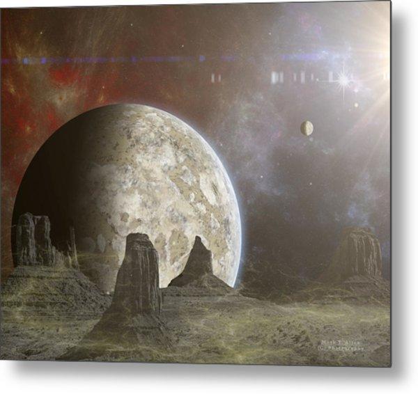 Phobos Metal Print
