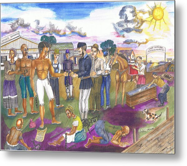 Phoebus Gateway To Freedom Metal Print by Everna Taylor