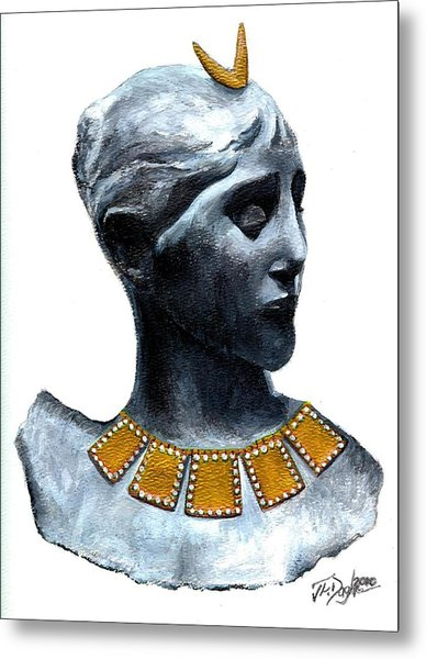 Phoenician Beauty Metal Print