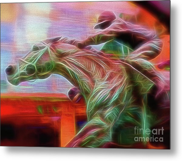 Photo Finish Metal Print