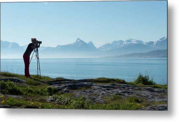 Photograph In Norway Metal Print