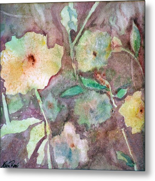 Photosynthesis Metal Print by Neva Rossi