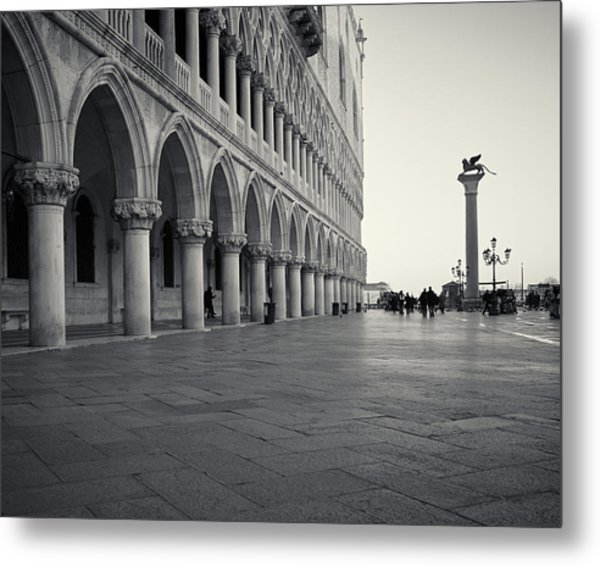 Piazza San Marco, Venice, Italy Metal Print