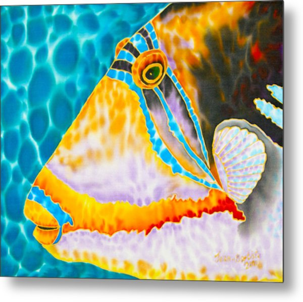Picasso Trigger Face Metal Print