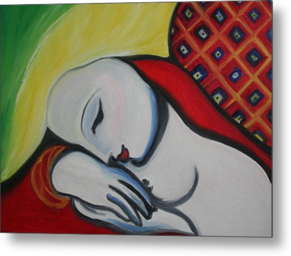 Picasso's Resting Angels Metal Print