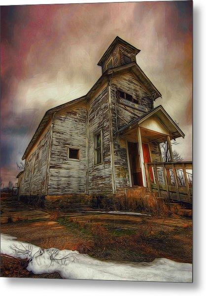 Picher Christian Church Metal Print