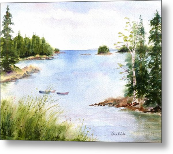 Pickering Cove Metal Print