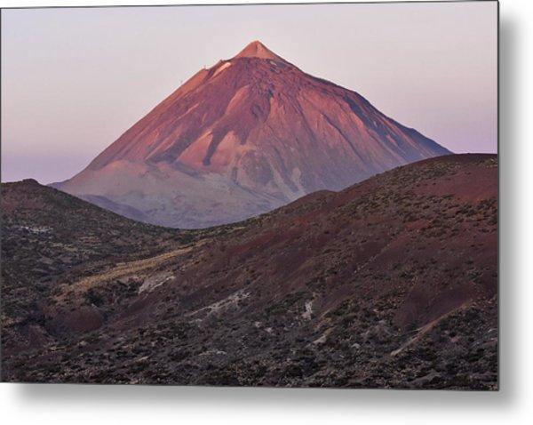 Morning Volcano Metal Print by Marek Stepan