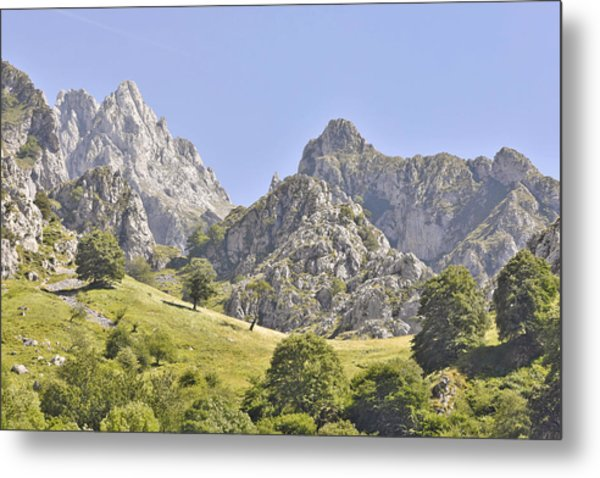 Picos De Europa Mountains Metal Print