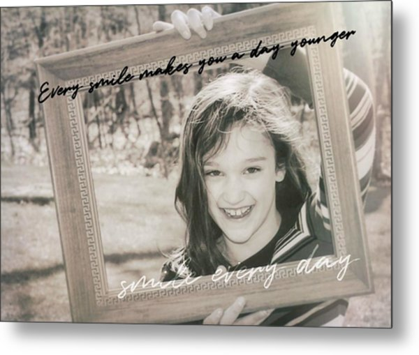 Picture Perfect Quote Metal Print by JAMART Photography