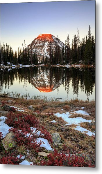 Picturesque Lake Metal Print