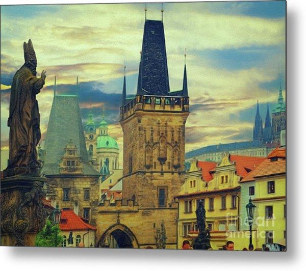 Picturesque - Prague Metal Print