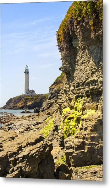Pidgeon Point Lighthouse Metal Print