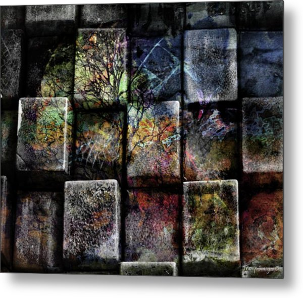 Pieces Metal Print