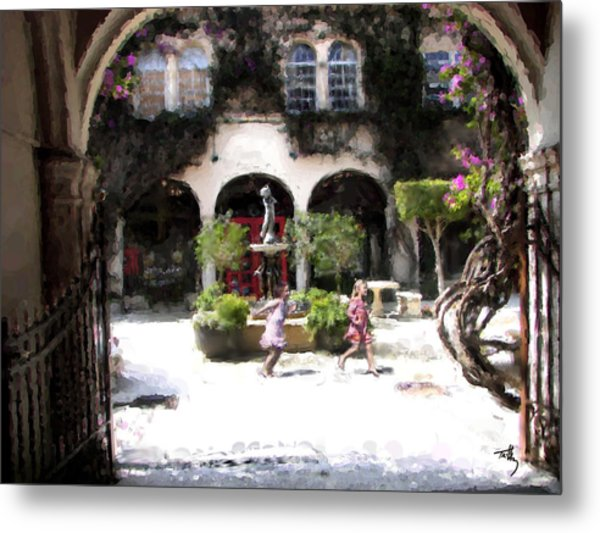 Pied Piper Two Metal Print