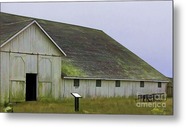 Pierce Pt. Ranch Study Metal Print