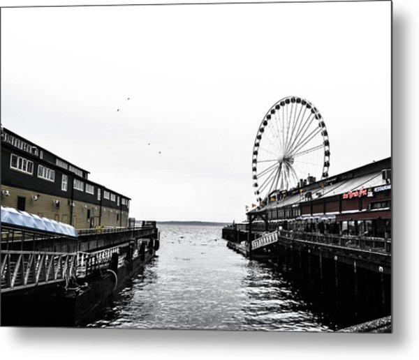 Pierless 2 Metal Print
