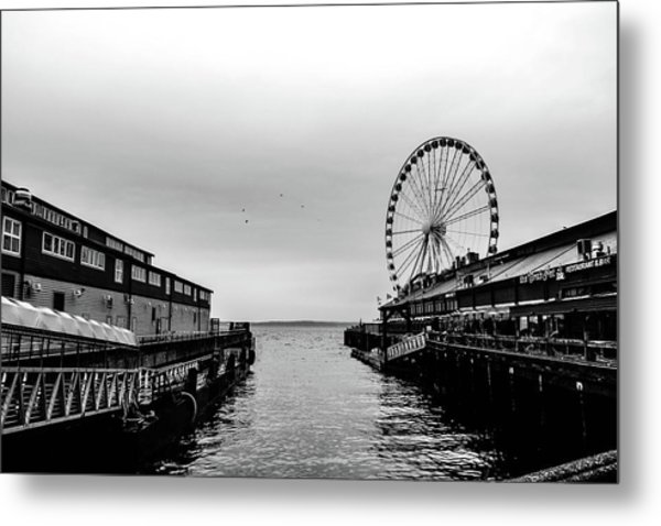 Pierless  Metal Print