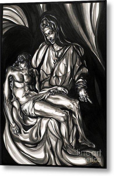 Pieta Metal Print by Keith  Thurman