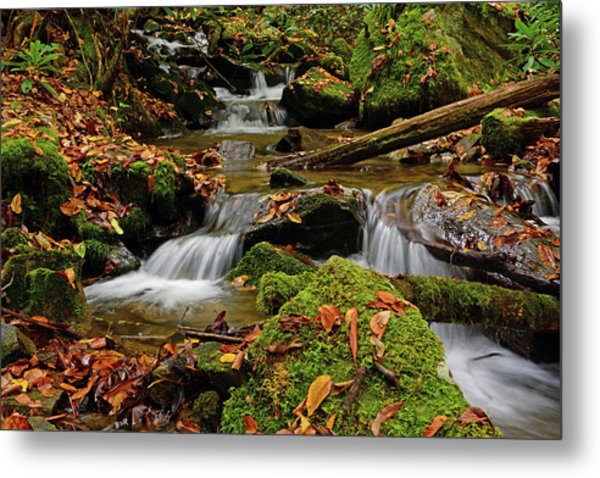 Pigeon Creek Cascades Metal Print