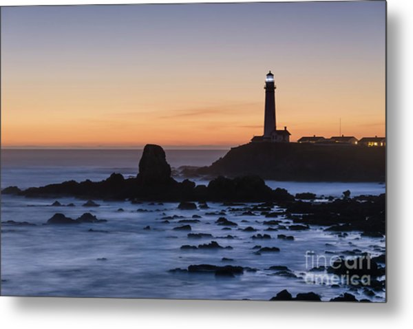 Pigeon Point Lighthouse Metal Print