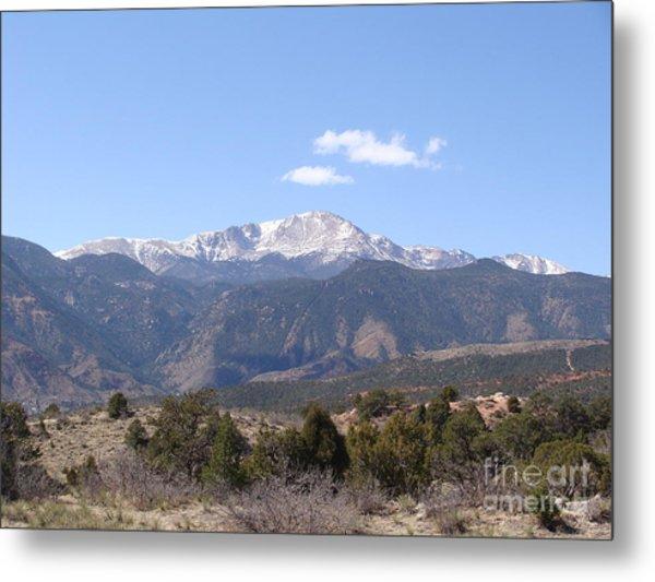 Pikes Peak Colorado One Metal Print