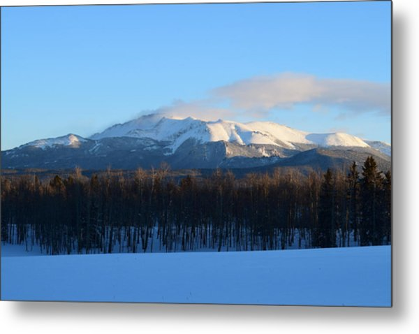Pikes Peak From Cr511 Divide Co Metal Print