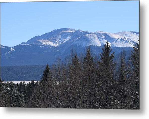 Pikes Peak Cr 511 Divide Co Metal Print