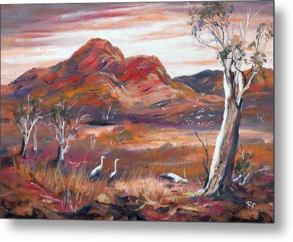 Pilbara, Outback, Western Australia, Metal Print