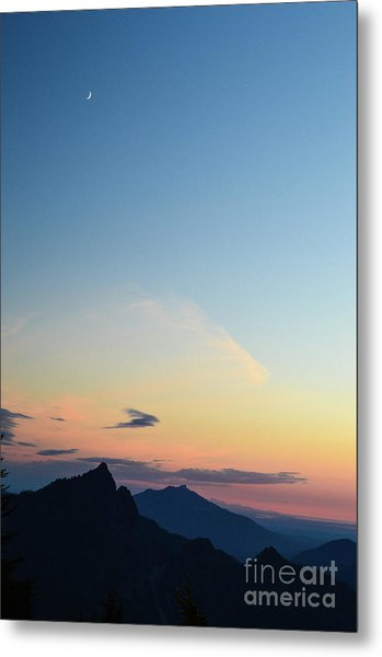 Pilchuck Sunset Metal Print