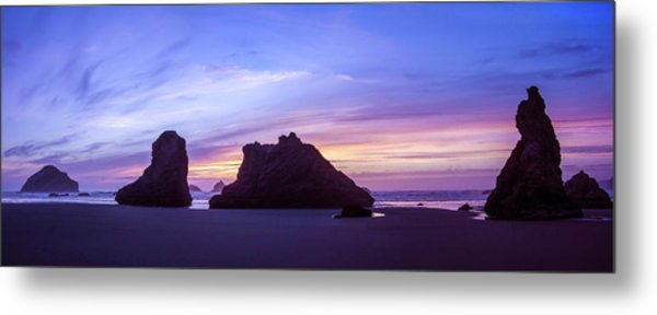 Pillars Of Bandon Metal Print