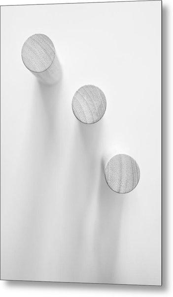 Pillars Metal Print