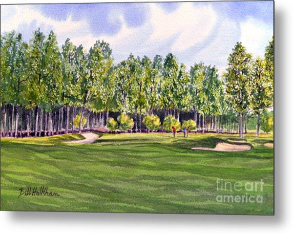 Pinehurst Golf Course 17th Hole Metal Print